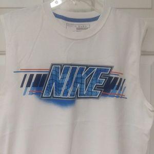 "Nike- Men's ""Swim"" Muscle Shirt -size Large"
